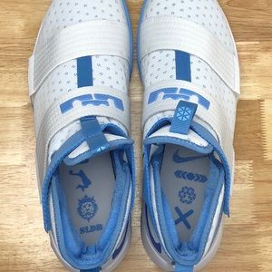 13d5cd5fe782a Nike Shoes | Lebron Soldier 10 Tb White Light Blue Unc | Poshmark